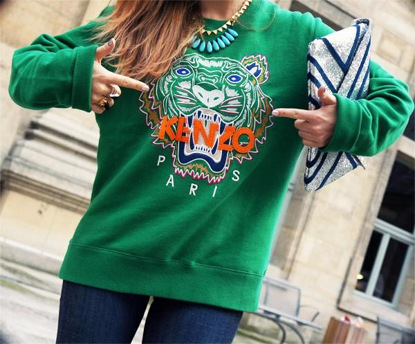 0db58d53f36 Sweat kenzo vert - fermeleycaut.fr