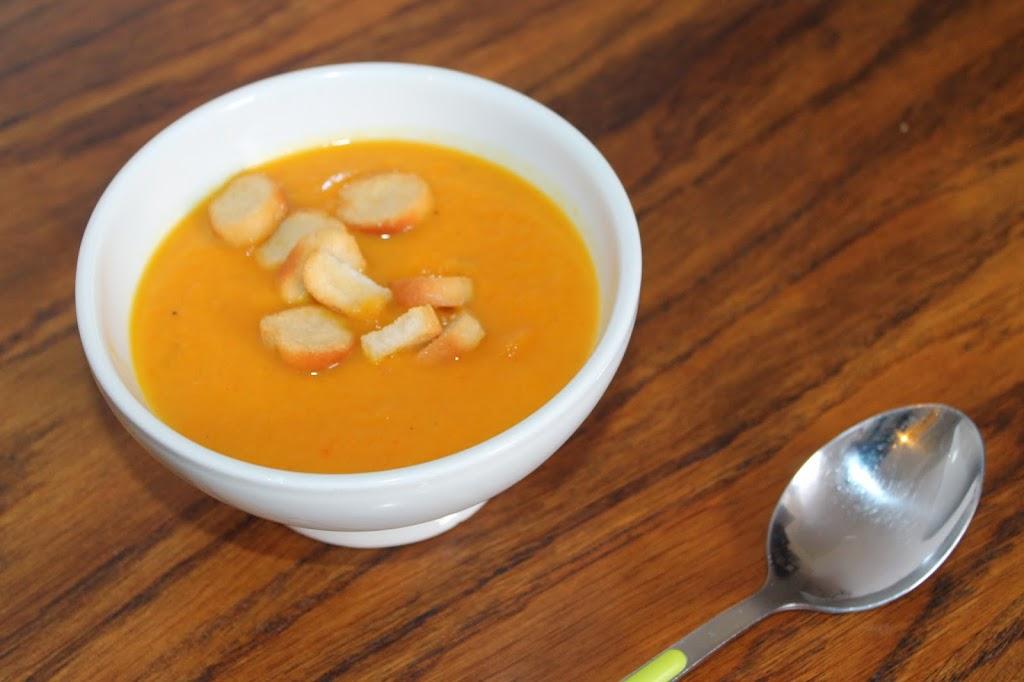 Initials cb une petite recette soupe carottes curry - Soupe potiron lait de coco curry ...