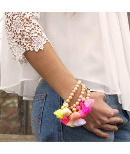 bracelet-boho-pink