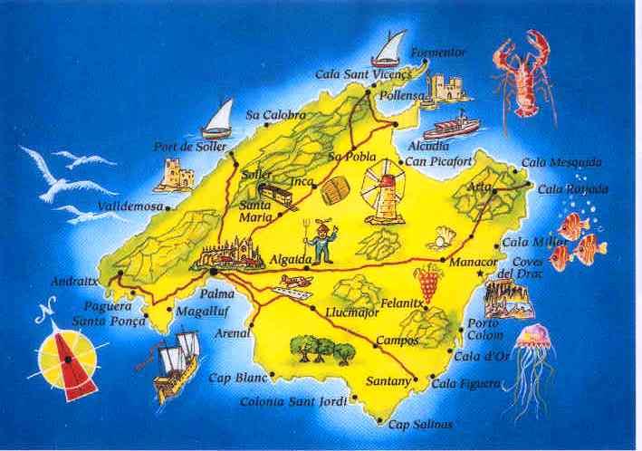 Baleares---Majorque
