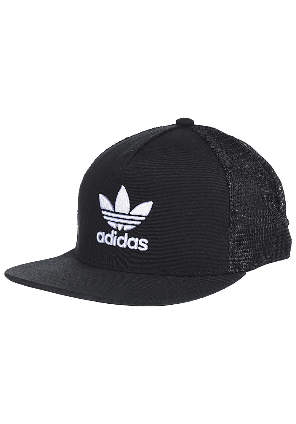 adidas-trefoil-casquette-trucker-noirs