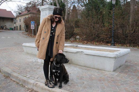 Le manteau beige nounours