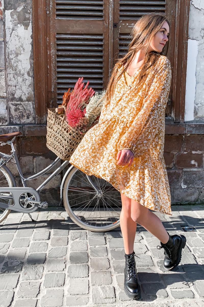 robe-liane-fleurie-moutarde