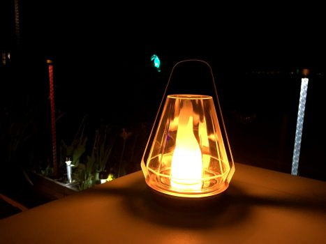 Les lampes solaires Nortene pour éclairer ma terrasse