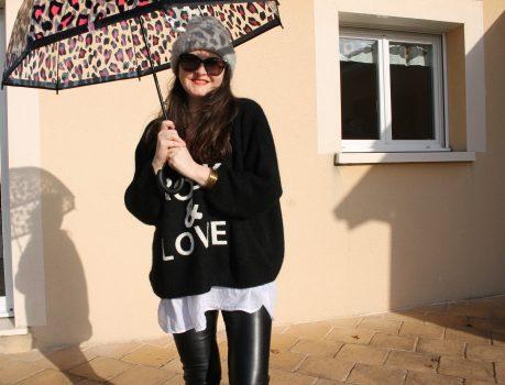 Des bottes & un parapluie