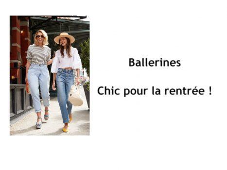 Ballerines : chic pour la rentrée !